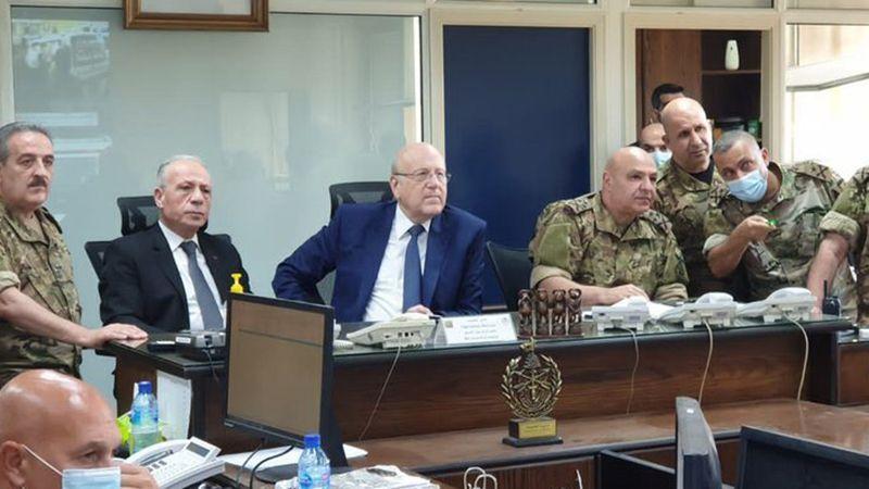 ميقاتي: الجيش ماضٍ ببسط الأمن وتوقيف المتورطين