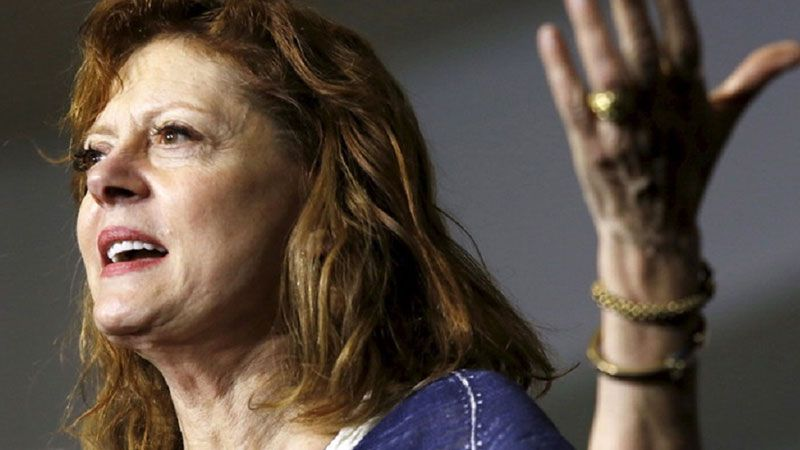 """في """"يوم السكان الأصليين"""".. سوزان ساراندون تتضامن مع فلسطين"""