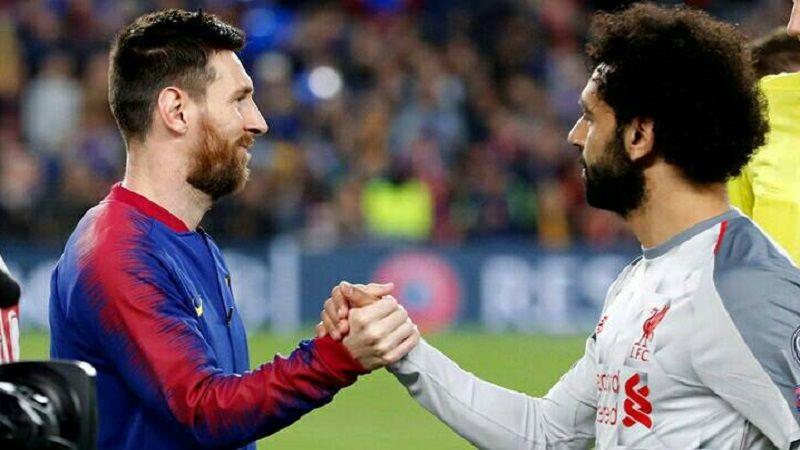 هل ينتقل صلاح الى برشلونة؟