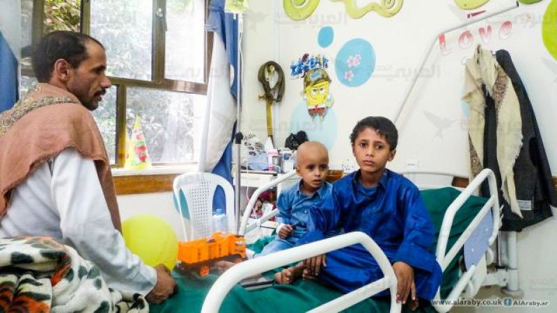 40 ألف إصابة بأورام سرطانية في اليمن جراء العدوان السعودي
