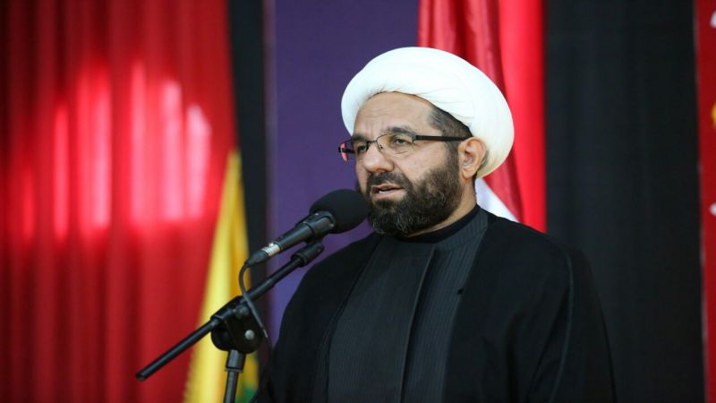 الشيخ دعموش: حزب الله يرفض زيادة 2 في المئة على البضائع المستوردة