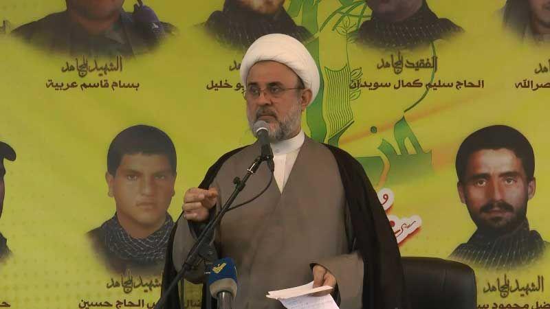 الشيخ قاووق: النظام البحريني يشكل وصمة عار على العرب والمسلمين والإنسانية جمعاء
