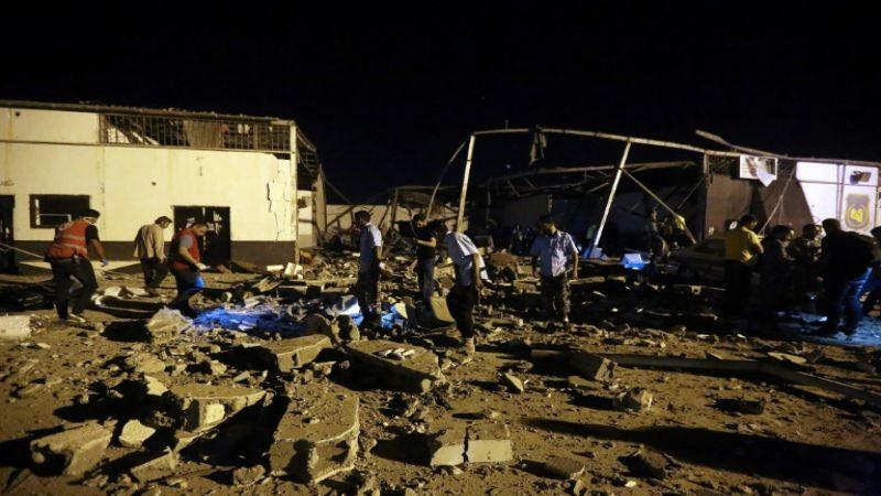 """فيتو أمريكي يمنع إدانة قوات حفتر بعد مجزرة """"تاجوراء"""" في ليبيا"""