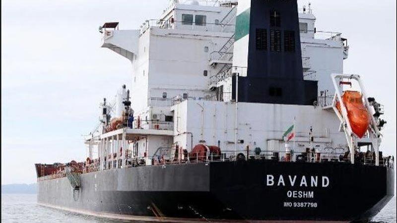 سفينة تجارية إيرانية تُبحر من البرازيل بعد تزويدها بالوقود