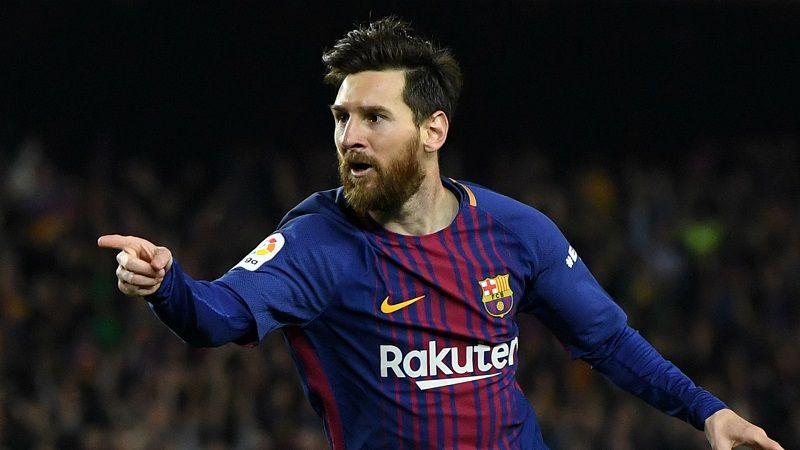 ميسي يغيب عن برشلونة