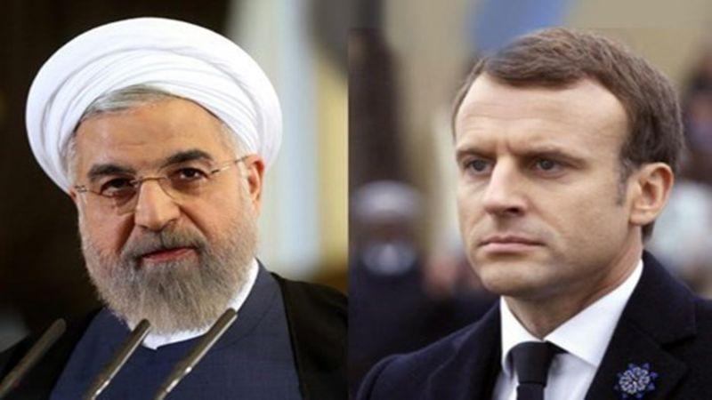 خلال اتصال هاتفي مع نظيره الفرنسي .. روحاني: تضييع الفرص سيضطر ايران لتنفيذ الخطوة الثالثة