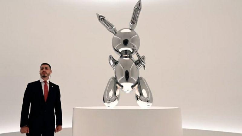 على شكل أرنب .. المنحوتة الاغلى في العالم 91.1 مليون دولار