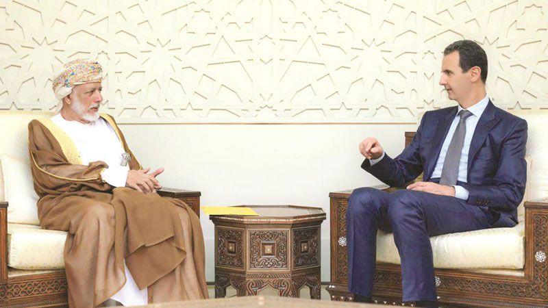 ماذا يحمل الوزير العماني في جعبته خلال زيارته إلى سوريا؟