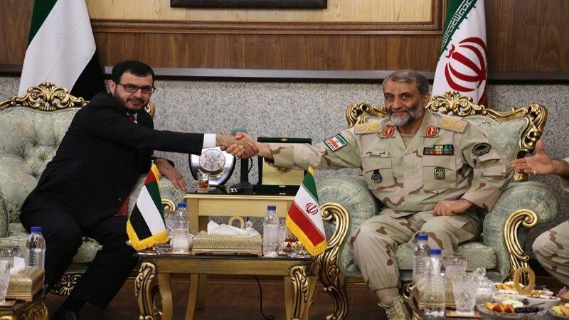 الإمارات تعزز علاقاتها الدبلوماسية مع إيران