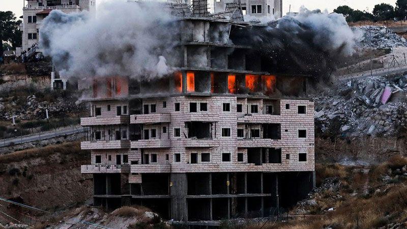 بالصور.. أكبر عملية هدم لمنازل الفلسطينيين منذ عام 1967