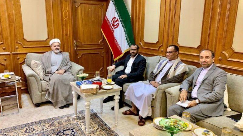 عبد السلام التقى السفير الإيراني في مسقط: التصعيد الأمريكي دفع بالمنطقة نحو الحافة