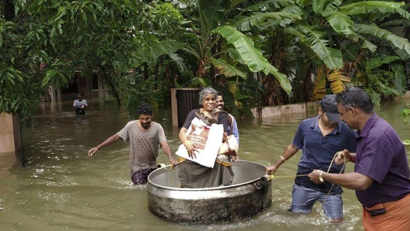 الفيضانات تهدد الملايين في الهند