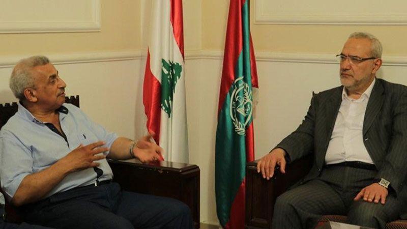 قماطي بعد زيارته سعد في صيدا: عدم انعقاد جلسات للحكومة يضرّ بالبلد