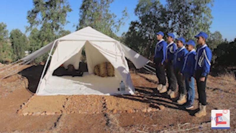 كشافة الامام المهدي تواصل انشطتها ومخيماتها الصيفية