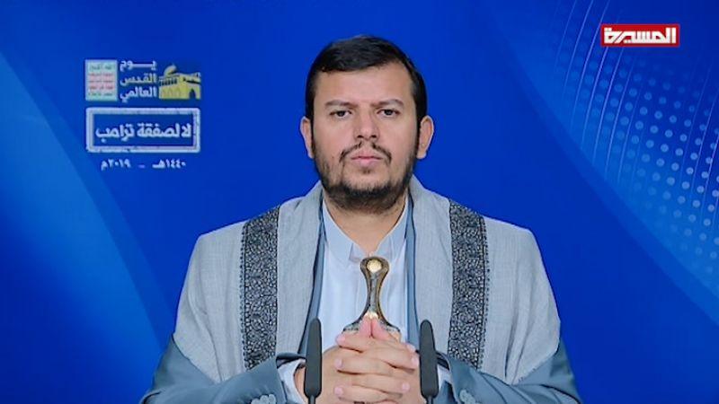 """السيد الحوثي: الشعب اليمني لن تكون مواقفه إلا معادية لأمريكا و""""إسرائيل"""" ونصرة للقضية الفلسطينية"""