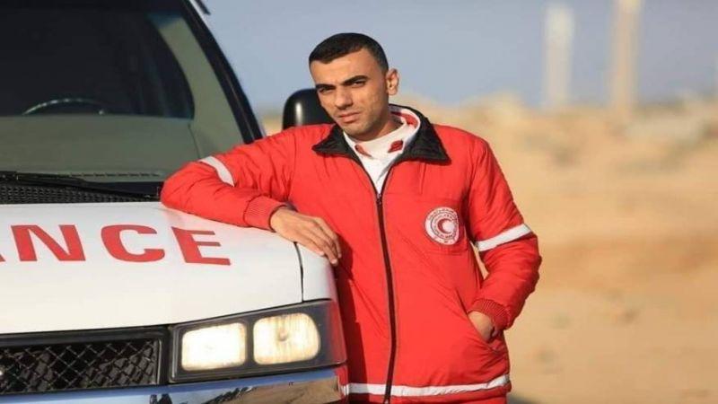 استشهاد ضابط اسعاف فلسطيني متأثرًا بجراحه في غزة