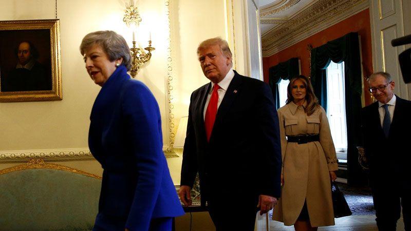 كم بلغت فاتورة زيارة ترامب لبريطانيا؟