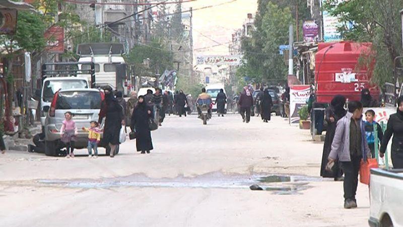 """""""العهد"""" في غوطة دمشق بعد عام على التحرير"""