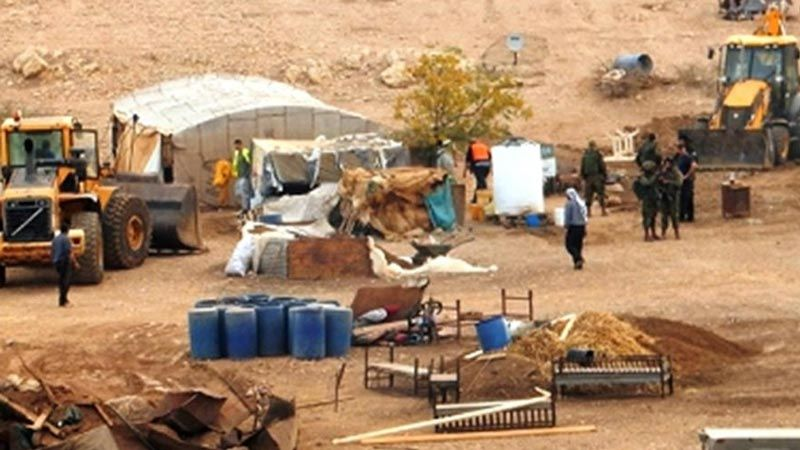 إصابات وهدم خيام في الأغوار الشمالية ونابلس