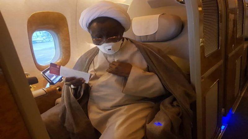 الشيخ الزكزاكي يغادر إلى الهند لتلقي العلاج