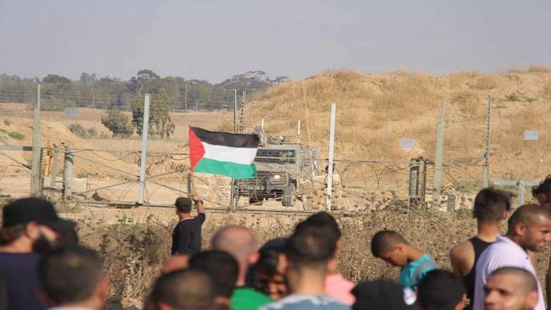 """إصابة عشرات الفلسطينيين برصاص الإحتلال في جمعة """"لا لضمّ الضفة"""""""