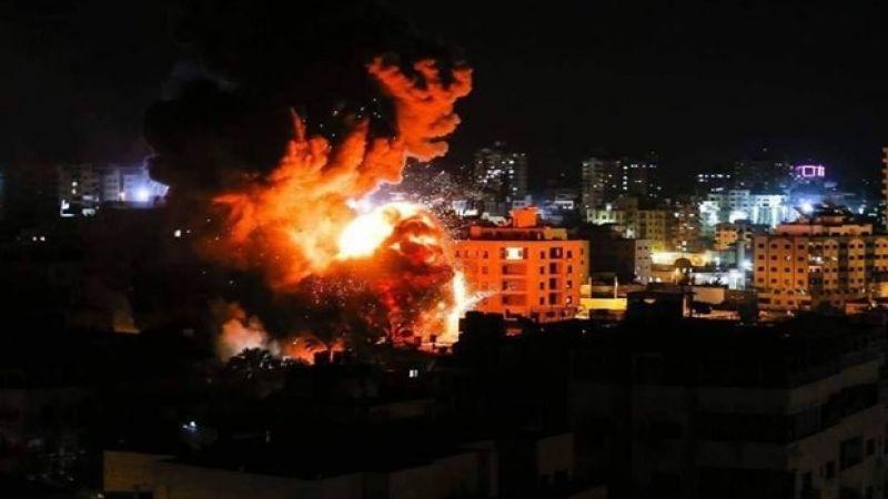 طائرات الاحتلال تعتدي على مواقع للمقاومة الفلسطينية في غزة