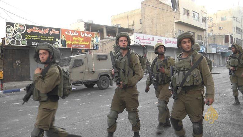إطلاق نار بين جيش الإحتلال وعناصر الأمن الفلسطيني في نابلس