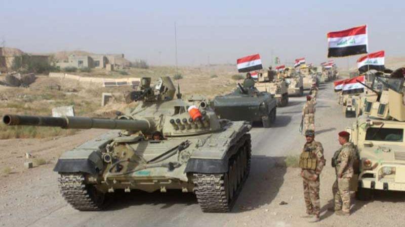 """العراق: انطلاق عملية """"ارادة النصر"""" لتطهير مناطق تقع بين 3 محافظات وصولاً لحدود سوريا"""