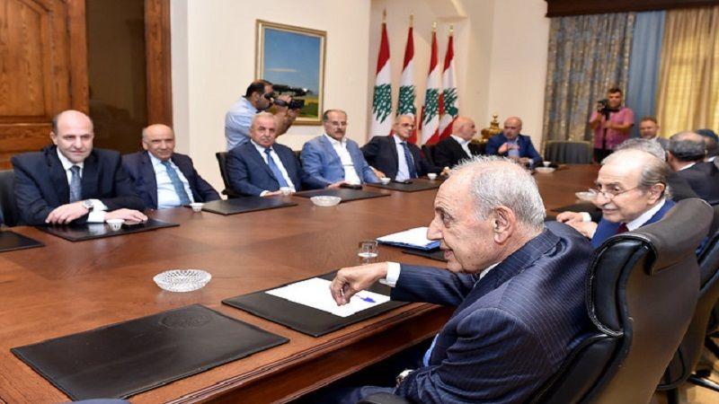 الرئيس بري: هناك تقدم إيجابي في ملف الحدود النفطية براً وبحراً