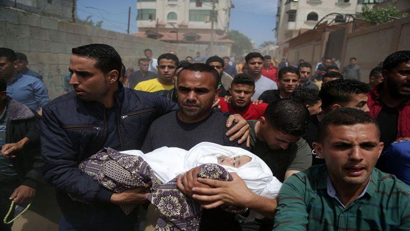 أخوة صبا.. اطفال غزة خرجوا في وداعها