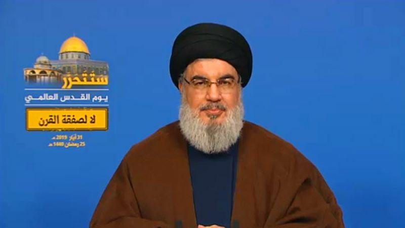 السيد نصر الله: نمتلك صواريخ دقيقة تغيّر وجه المنطقة .. وإذا استمر الاميركي بفتح هذا الملف سنؤسس مصانع لصناعتها
