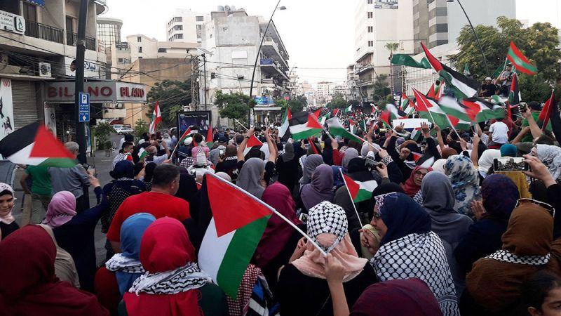 المرأة الفلسطينية في ميدان المواجهة والمُطالَبَة بالحقوق