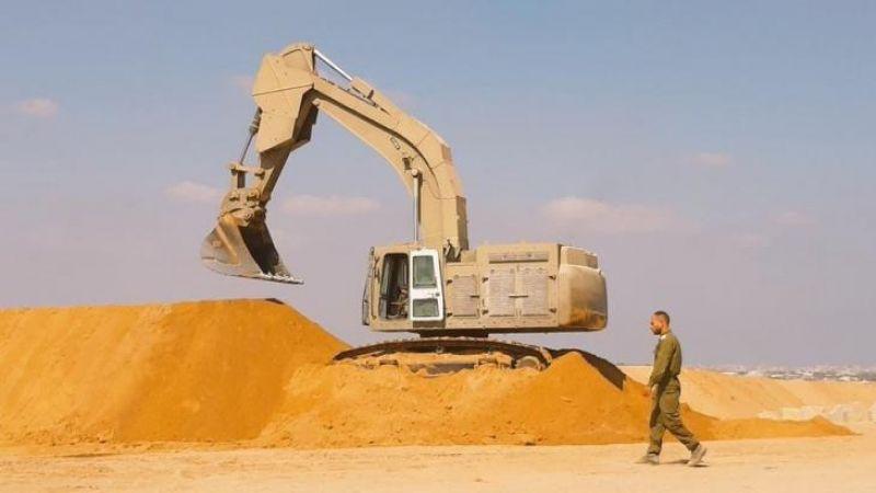 جيش الاحتلال يواصل تحصين الحدود مع قطاع غزة