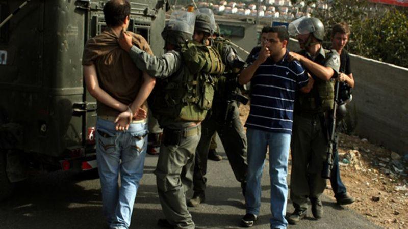 اعتقالات بالجملة للقوات الصهيونية في القدس المحتلة والضفة الغربية
