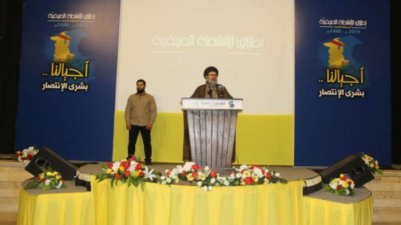 السيد صفي الدين: نقدّر كثيرا الإجماع اللبناني السياسي على رفض صفقة القرن