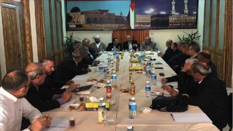 لقاء الأحزاب أدان أشكال الخطاب الطائفي وأكد حق ايران في رفع نسبة تخصيب اليورانيوم