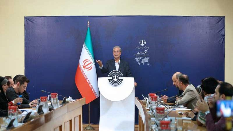 المتحدث باسم الحكومة الإيرانية: بامكان بومبيو اجراء مقابلة صحفية مع مرضية هاشمي