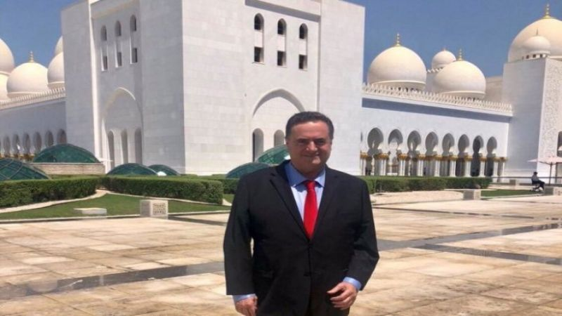 وزير الخارجية الصهيوني: اجتمعتُ بمسؤول إماراتي كبير
