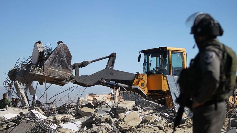 الاحتلال نفذ 43 عملية هدم بالضفة الغربية خلال تموز
