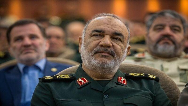 قائد الحرس الثوري الإسلامي يعزّي الأمين العام لحزب الله بوفاة شقيقته
