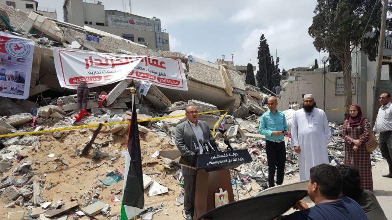 700 وحدة سكنية تضررت جراء العدوان الأخير على غزة