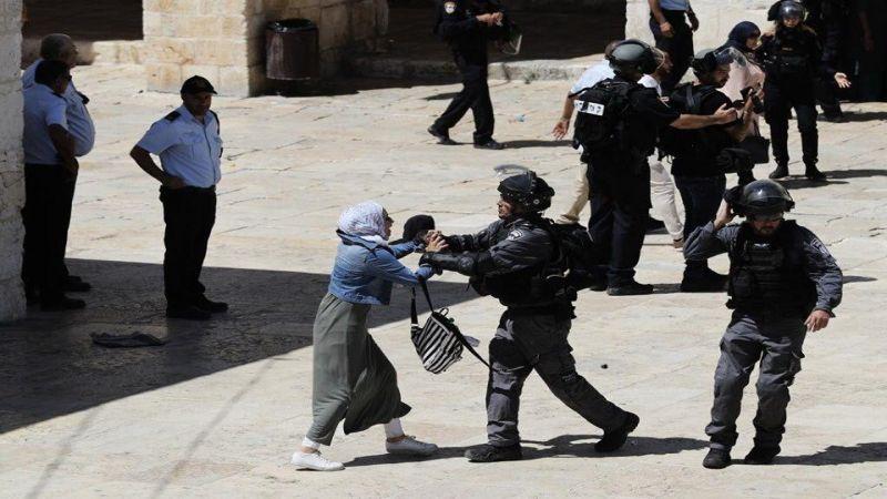 بالصور.. هكذا انتهك الاحتلال حرمة الأقصى والمقدسيين