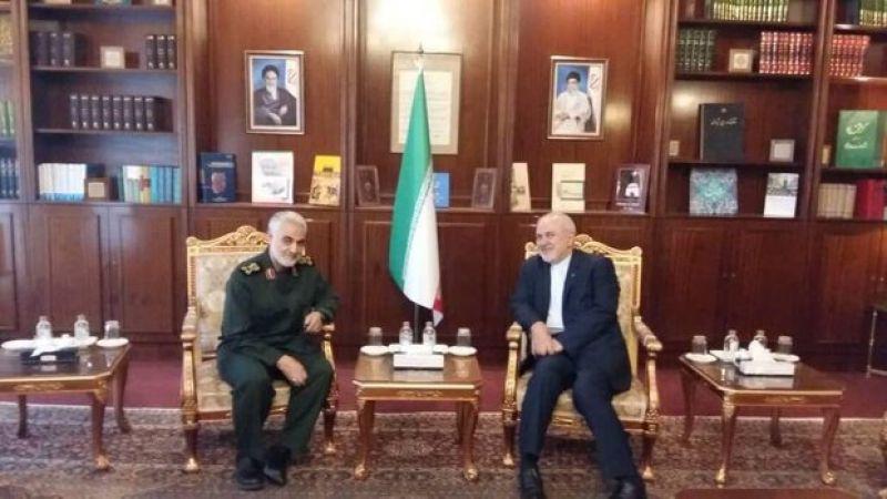سليماني يزور ظريف: العقوبات الأميركية دليل فشل وجنون