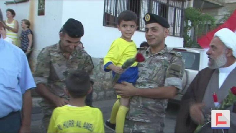 كيف احتفلت مشغرة بعيد الجيش اللبناني؟