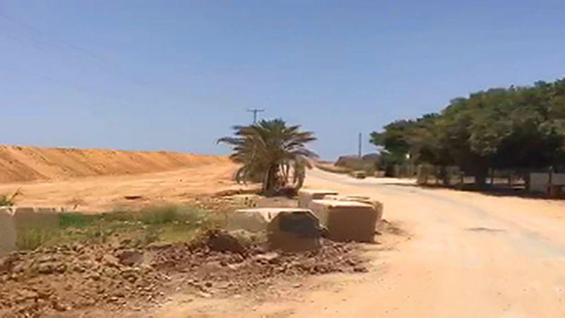 """سواتر تُرابية لحماية مستوطنات """"غلاف غزة"""""""