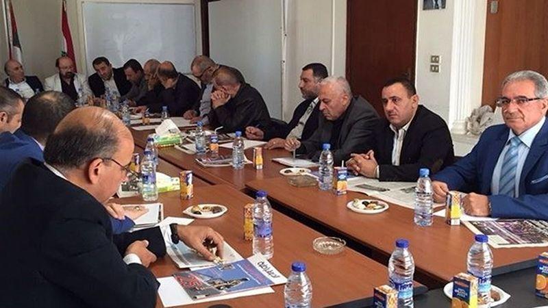 لقاء الأحزاب: التصدي للعقوبات الأميركية مرتبط بالدفاع عن سيادة لبنان