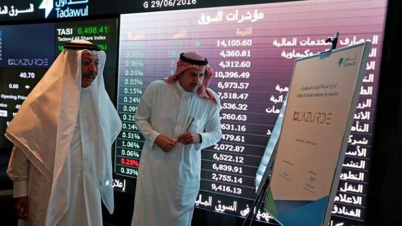 البورصة السعودية في أدنى مستوياتها منذ شهر
