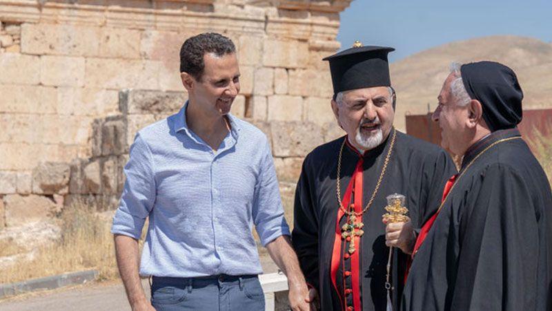 الأسد: التجذر المسيحي في سوريا ضروري