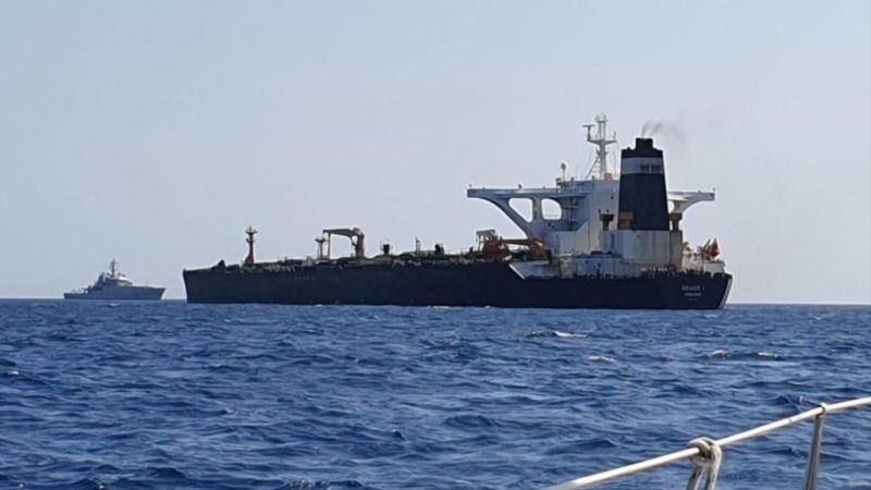 """الإفراج عن طاقم ناقلة النفط الإيرانية..والمدمرة البريطانية """"دنكان"""" إلى الخليج"""