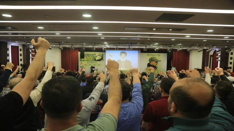 بالصور: الاحتفال التكريمي في الذكرى السنوية الثالثة لاستشهاد القائد مصطفى بدر الدين